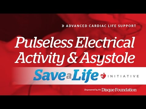 Pulseless Electrical Activity Asystole ACLS Online Handbook