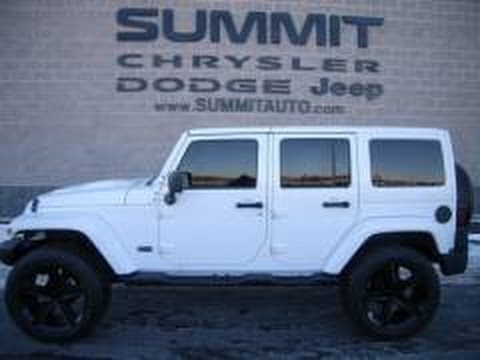 Sold 8861 2014 Jeep Wrangler Unlimited Polar Edition 4wd Insulated