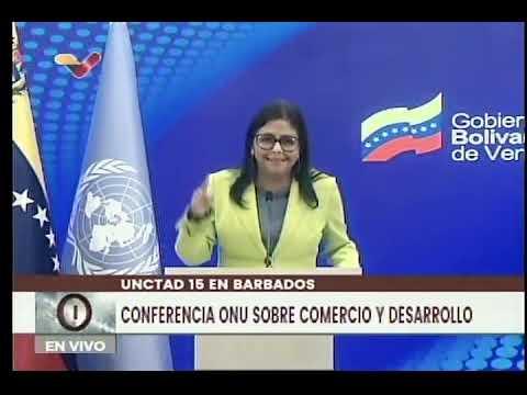 Delcy Rodríguez: FMI no ha entregado a Venezuela $5 mil millones para lucha contra el Covid-19