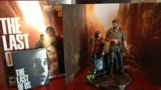 The Last of Us Post Pandemic Edition Unboxing Gamestop Exclusive