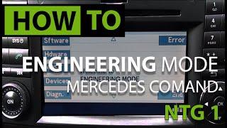 Mercedes W211 Ntg1 Ece Command Serviceupdate Part 2 - Icloud Help
