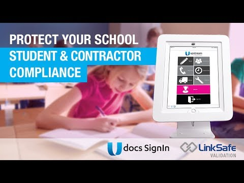 Education - Digital Sign In & Contractor Compliance Solution