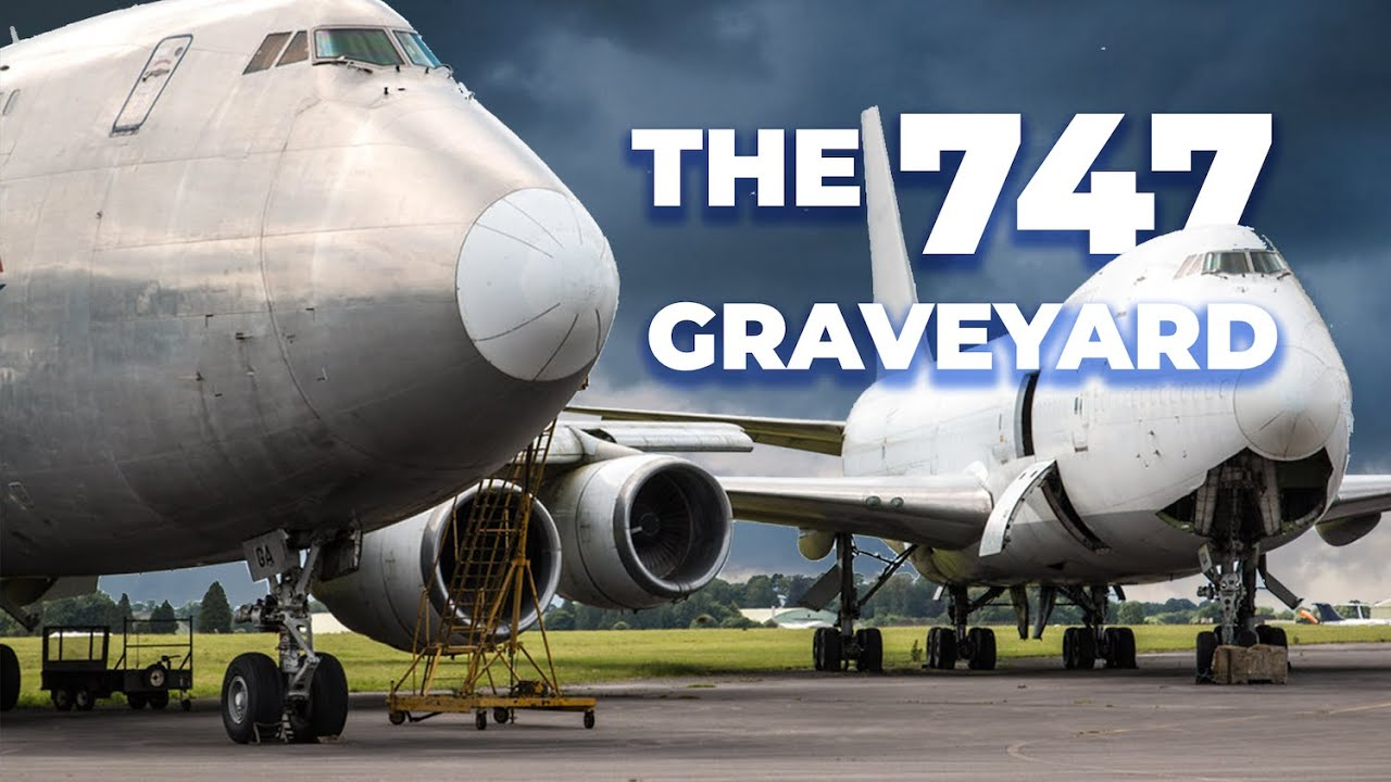 The Little English Airport Where Boeing 747s Go To Die