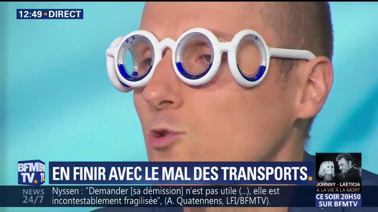 Grâce à ces lunettes, vous n'aurez plus jamais le mal des transports ...