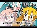Vocaloid - Triple baka [rus sub]