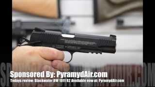 Blackwater BW 1911 R2 air pistol - Airgun Review by AirgunWeb