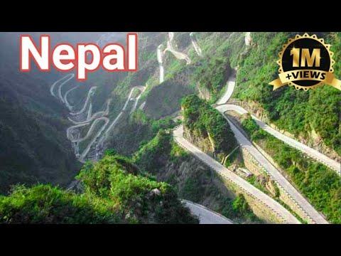 Kathmandu to Sindhuli Road in Nepal   Amazing view in Nepal   Nepal   Hi saddam
