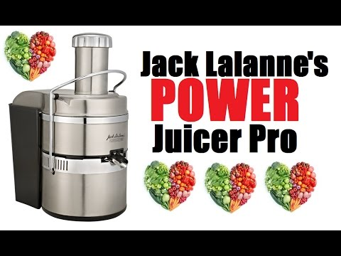 Jack Lalanne's Power Juicer Pro Review   A Closer Look