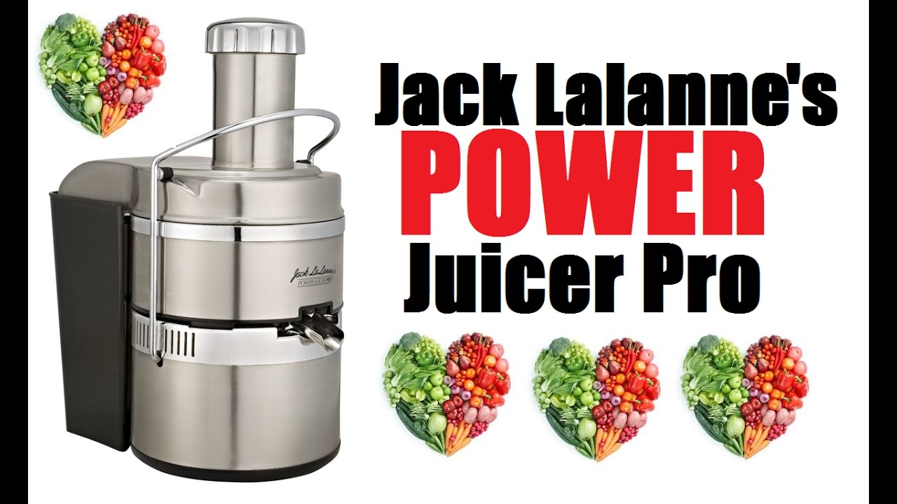 jack lalanne power juicer recipes pdf