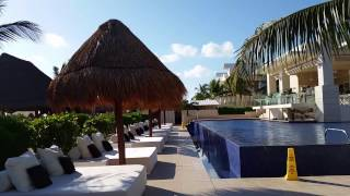Walking from my suite at Beloved Playa Mujeres