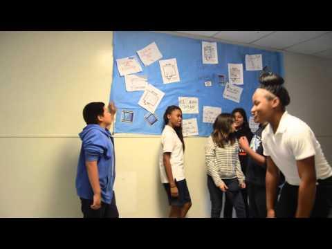 Hosler Middle School PBIS Hallway Example