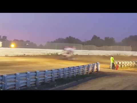 Selinsgrove Speedway 410 Sprint Car Highlights 07-03-16