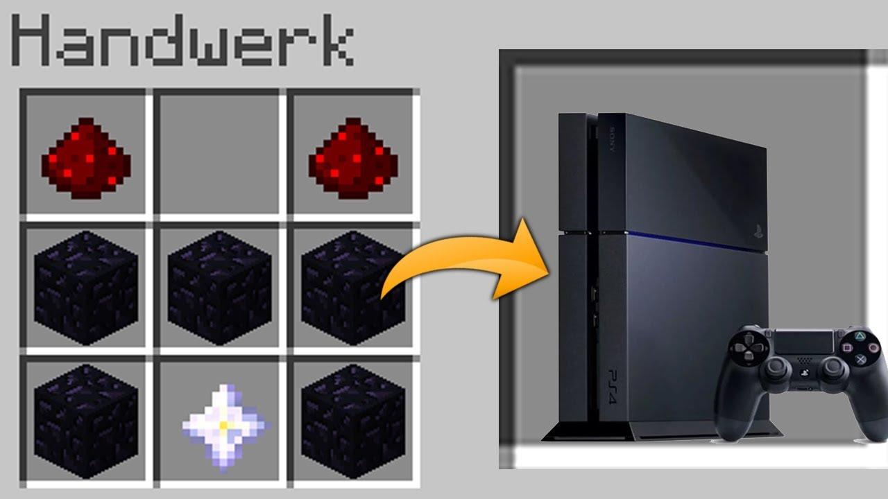 Minecraft Kartentisch Rezept.Ps4 Craften In Minecraft