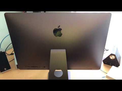 Apple iMac Pro Opening and Setup