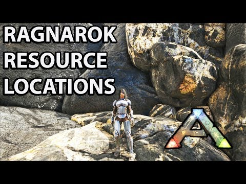 Ragnarok Resource Locations: Metal, Crystal, Oil, Obsidian etc. Ark Survival Evolved