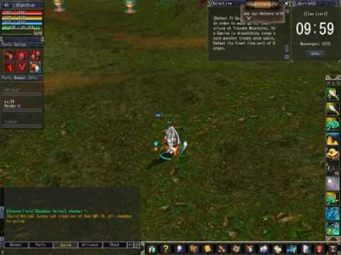 Titan Online Goddess Valley Run