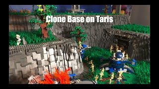 Lego Star Wars Clone Base on Taris
