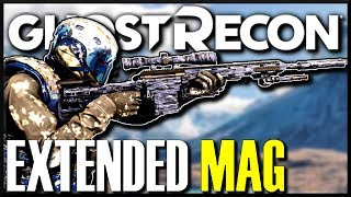 Ghost Recon Breakpoint SNIPER LARGE MAGAZINE LOCATION