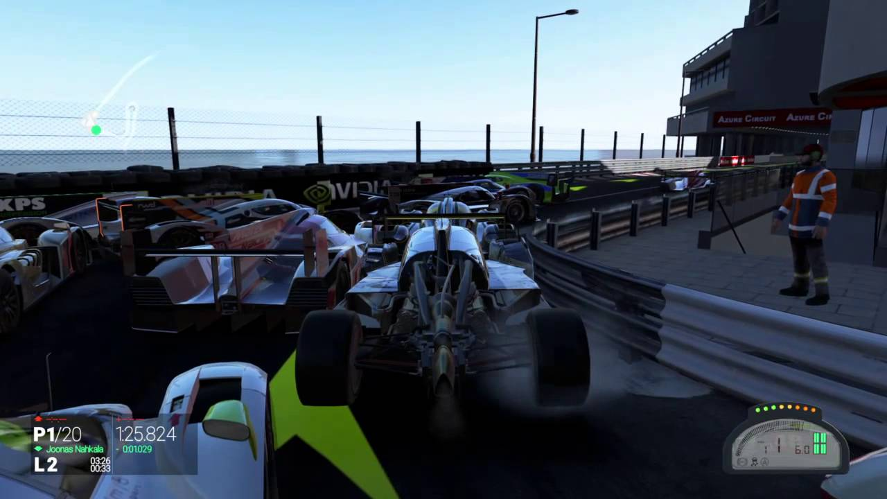 Project Cars Traffic Jam Ps4 Youtube