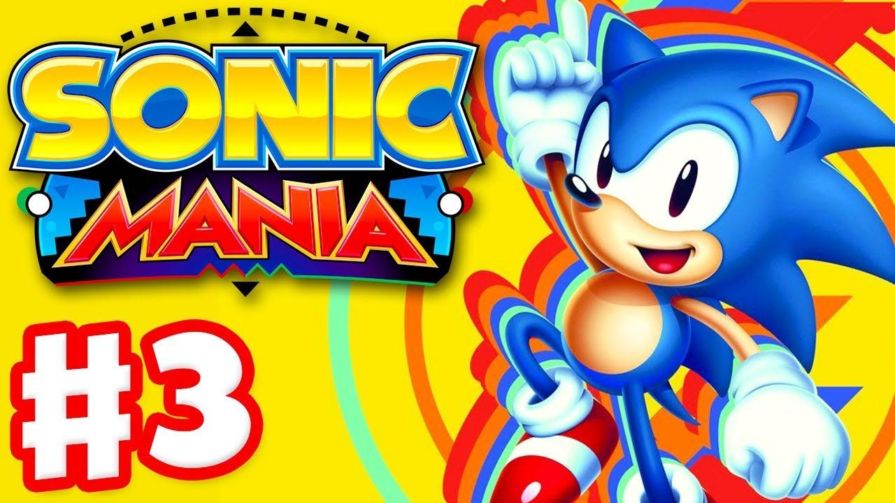 Sonic Mania - Gameplay Walkthrough Part 3 - Studiopolis Zone!