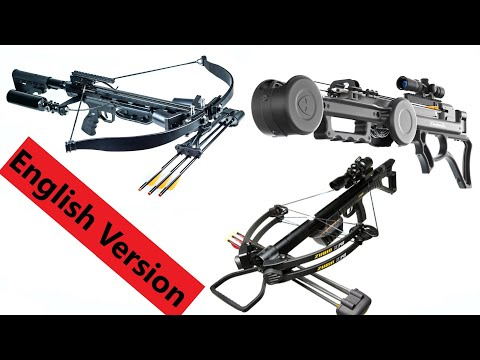 World's 3 Hottest Crossbows Compared! Full Review.