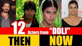 "12 Bollywood Actors from ""DILWALE DULHANIA LE JAYENGE"" 1995 