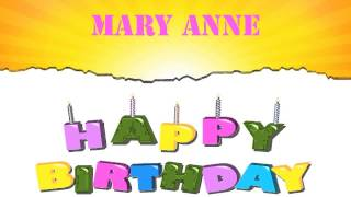 MaryAnne   Wishes & Mensajes - Happy Birthday