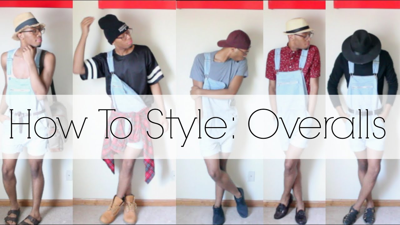 Summer spring lookbook 2014 how to style overalls men s youtube