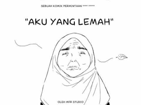 "Komik : ""AKU YANG LEMAH"" by MFR Studio"