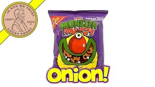 Mega Monster Munch Pickled Onion, Walkers - UK Candy & Snack Tasting