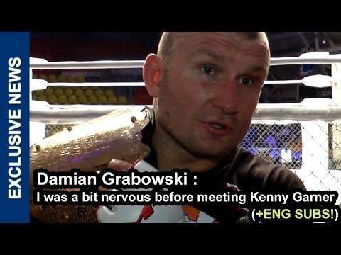 Дамиан Грабовски: Я переживал перед боем с Кенни, Damian Grabowski interview after M-1 Challenge 44