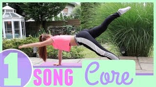 1 Song Workout: Intense Core Sculptor [Workout at Home]