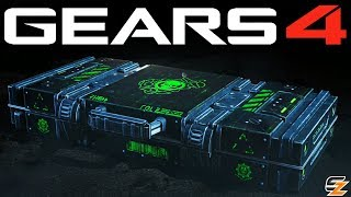 Gears of War 4 Gear Packs - OPENING 15 NCOG MARINE GEAR PACKS!