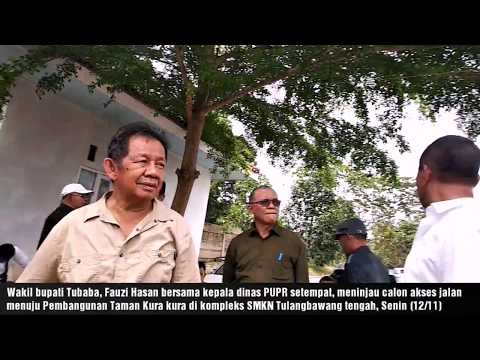 Pembangunan Taman Kura Kura Di kabupaten Tulangbawang barat