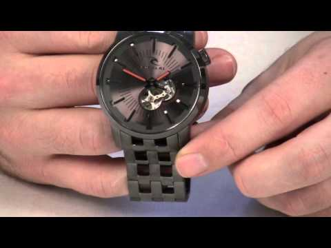 Rip Curl Detroit Automatic Watch Review at Surfboards