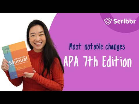 APA Manual 7th Edition: 17 Most Notable Changes | Scribbr 🎓