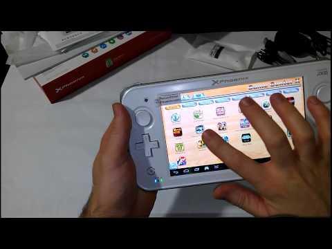 Phoenix (JXD) Casia GameTab S7300 ( Unboxing y Hands on en Español ) 2ª Parte