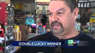 Man wins lottery twice at same store