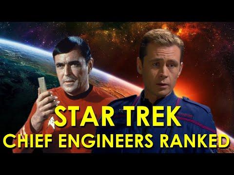 Star Trek Chief Engineers Ranked