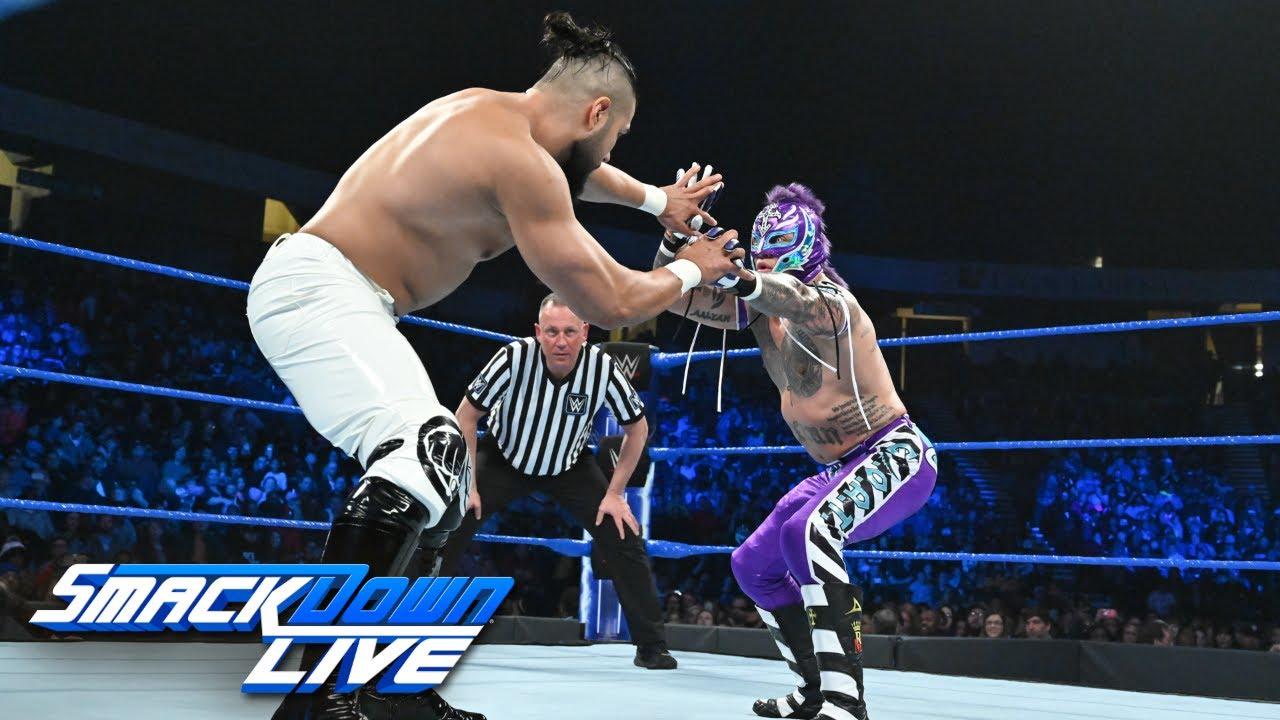 HINDI - Rey Mysterio vs. Andrade: SmackDown LIVE, 15 January, 2019