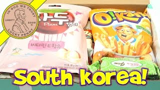 Try Treats South Korea Candy & Snack Monthly Subscription Box
