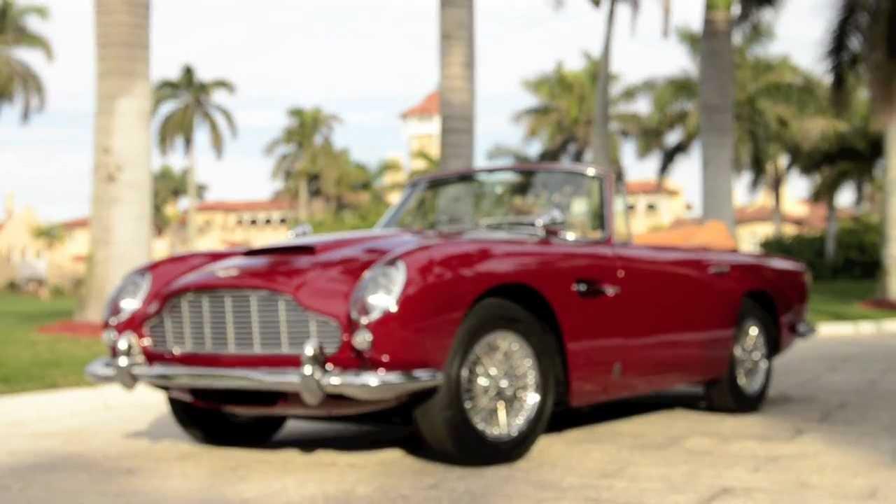 1965 Aston Martin Db5 Vantage Convertible Youtube