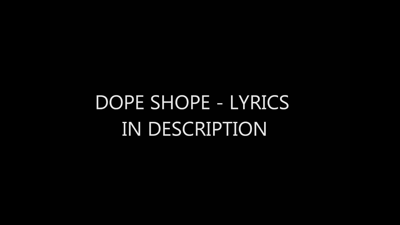 Dope Shope Song Mp3 Download
