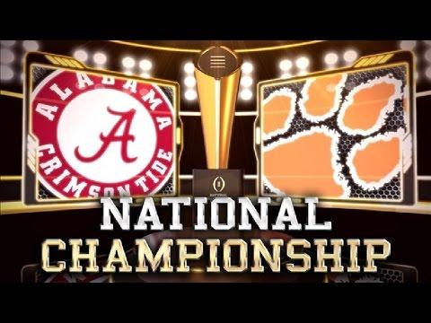 2016 National Championship No. 1 Clemson...