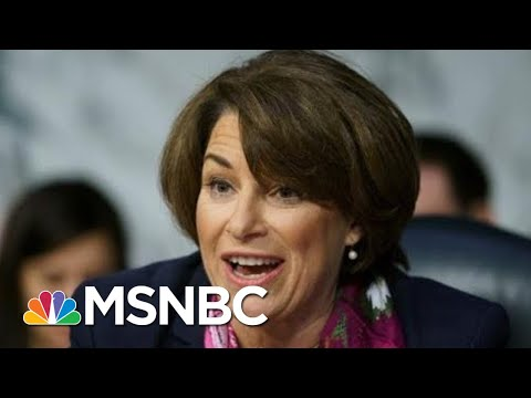 Amy Klobuchar On Republican Colleagues: 'To Me They Look Embarrassed' | Rachel Maddow | MSNBC