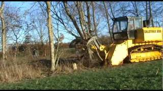 GALOTRAX 800 - World heaviest forestry mulcher / Broyeur forestier le plus puissant au monde
