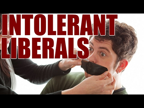 Intolerant Liberals- From A Master of Divinity from a Christian Seminary, Tucker Fitzgerald