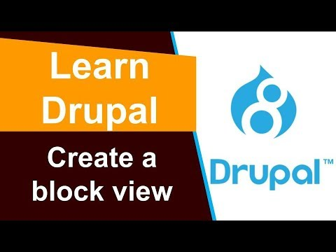 Drupal - Create a block view to display recent content thumbnail