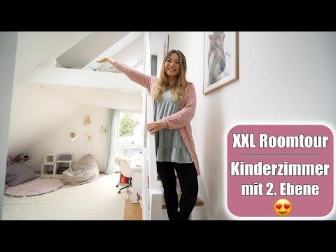 XXL Kinderzimmer Roomtour mit Hochebene Vorher - Nachher | Pferde Mdchen Traum | Mamiseelen
