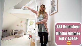 XXL Kinderzimmer Roomtour mit Hochebene 😍Vorher - Nachher | Pferde Mädchen Traum | Mamiseelen